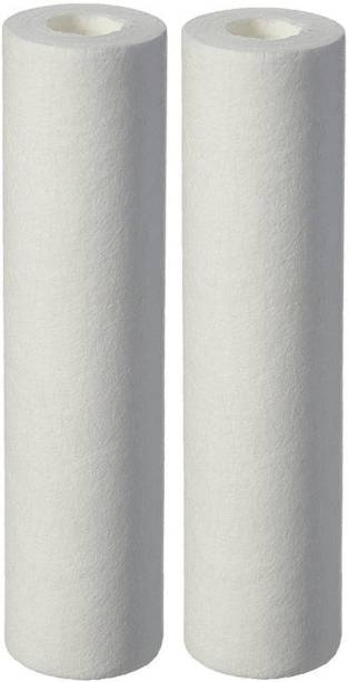 "Morning Star Technology Sediment filter 10"" 5 Micron cartridge candle to fit most standard 10"" 5 Micron filter housings ( PACK OF 2 ) Solid Filter Cartridge"