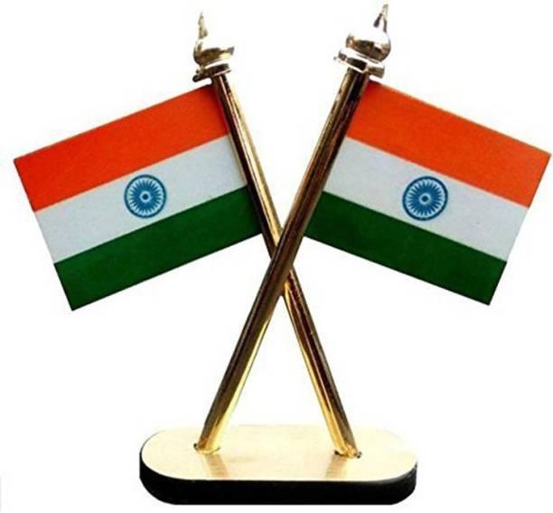 STAR SHINE indian Square Car Dashboard Flag Flag