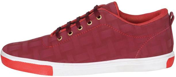 MOU Zar Check Sneakers Casuals For Men