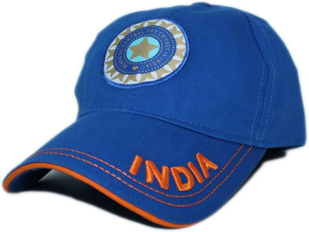 Friendskart Solid Casual Sports Team India ODI T-20 Cricket Supporter Cap  for Mens Cap ac91c361bf34