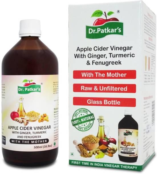 Dr. Patkar's Apple Cider With Ginger Turmeric & Fenugreek Vinegar