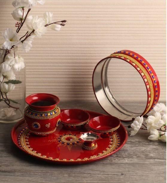 bdcd2ea9d97 Itiha Pooja Thali Sets - Buy Itiha Pooja Thali Sets Online at Best ...