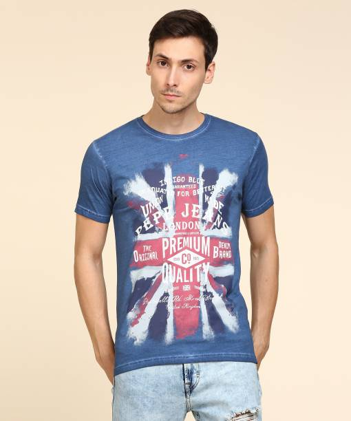 1928f57830 Pepe Jeans Tshirts - Buy Pepe Jeans Tshirts Online at Best Prices In ...