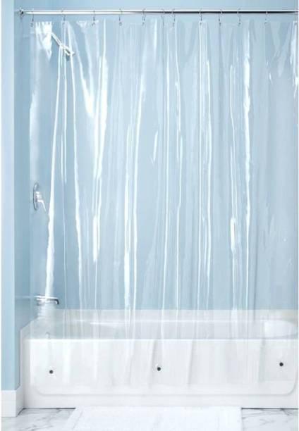SHAVIN 288 Cm 9 Ft PVC Long Door Curtain Pack Of 2