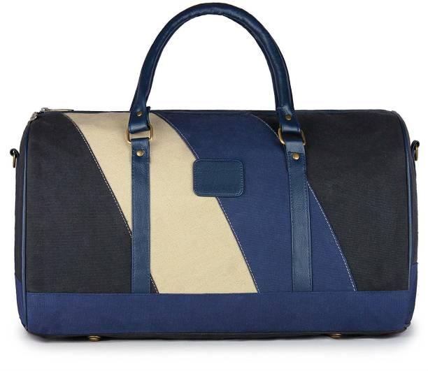 958a57982967 Shrih Unisex Cotton Canvas Travel Duffel Luggage Bag Cabin Bag Travel  Duffel Bag