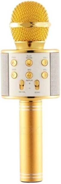 eCstasy Microphone Wireless, Portable Handheld Singing Machine Condenser Mic And Bluetooth Speaker Compatible With All Devices Bluetooth Microphone