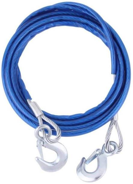 RHONNIUM Winch Cable with Mega Winch Hook – GALVANIZED - 5/16 inch X 100 ft (9,800lb strength) 4.5 m Towing Cable