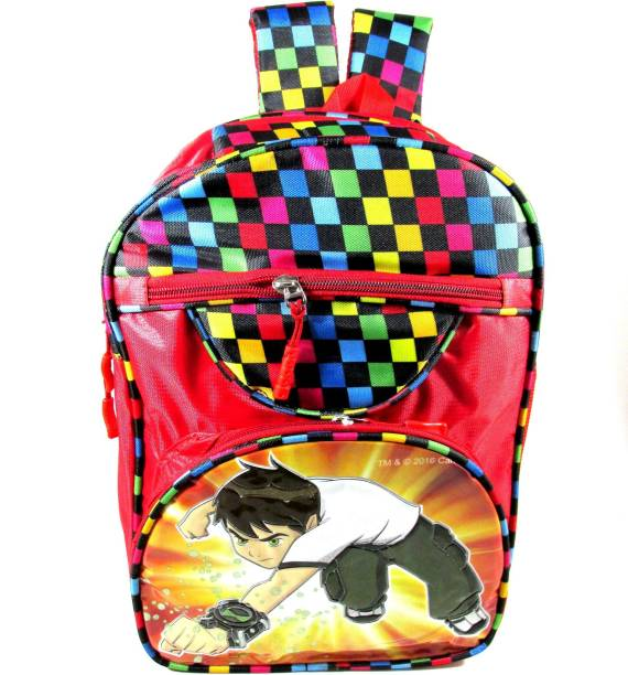 ehuntz Ben10 school Bag (Pre Nursery, Nursery & 1st class) (EH1178) Waterproof School Bag