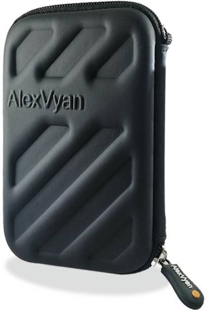 AlexVyan Pouch for WD My Passport Ultra 1 TB, 2 TB Hard Disk Drive (Casing Case Cover Enclosure Bag Sleeve)