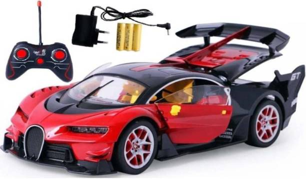 brand new 9de13 f7bcb Ma Products Bugatti Style Remote Control Rechargeable Car With Opening  Doors For Kids (Multicolor)