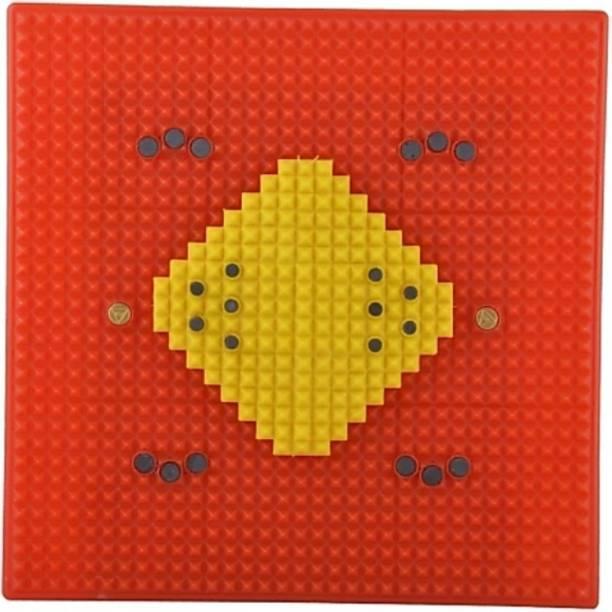 Natural Acupressure Foot Mat Red 3 mm Accupressure Mat
