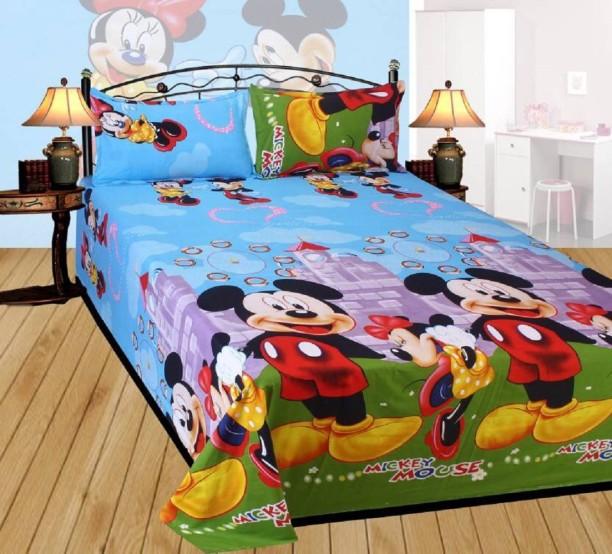 BEAUTY SHEETS 900 TC Cotton Double Cartoon Bedsheet