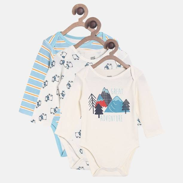 fe03b4b9b68e Baby Boys Bodysuits   Sleepsuits - Buy Online At Best Prices In ...