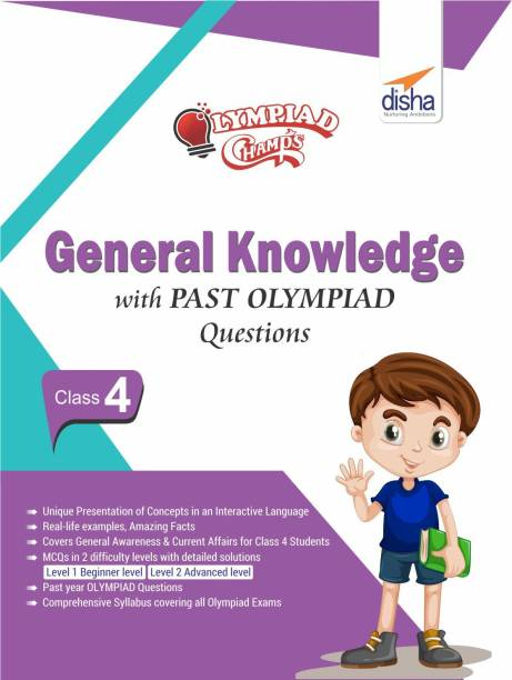 Olympiad Champs General Knowledge Class 4 with Past Olympiad Questions