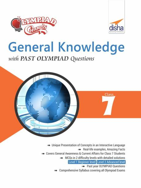 Olympiad Champs General Knowledge Class 7 with Past Olympiad Questions