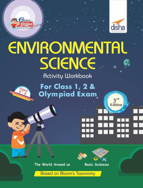 Perfect Genius Environment & Science Activity Workbook for Class 1, 2 & Olympiad Exams 3rd Edition (Ages 6 to 8)