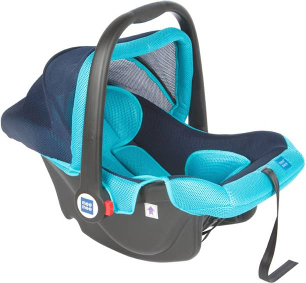 MeeMee Baby Car Seat Cum Carry Cot with Thick Cushioned Seat Baby Car Seat