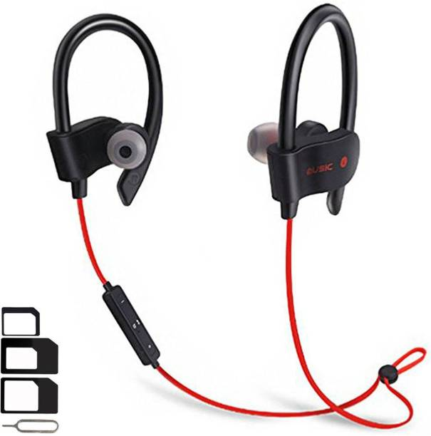 ShopReals Headset Accessory Combo for Nokia 8, Xiaomi Mi Max 2, OnePlus 6, Honor 8 Pro, Samsung Galaxy S8, Honor 10, Samsung Galaxy Note 8, Ulefone Power 5, Samsung Galaxy C9 Pro, Honor V10, Moto X4, Asus Zenfone 3, HTC U Ultra Wireless Bluetooth In-Ear Headphones Headset Hands-Free Earbuds Earphone With Mic