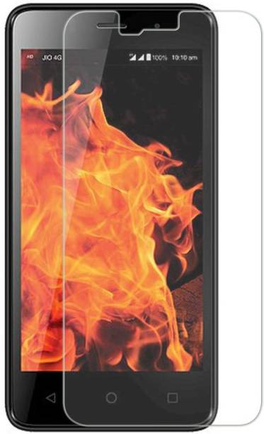 Dmax Aspire Tempered Glass Guard for Reliance Jio LYF Flame 3