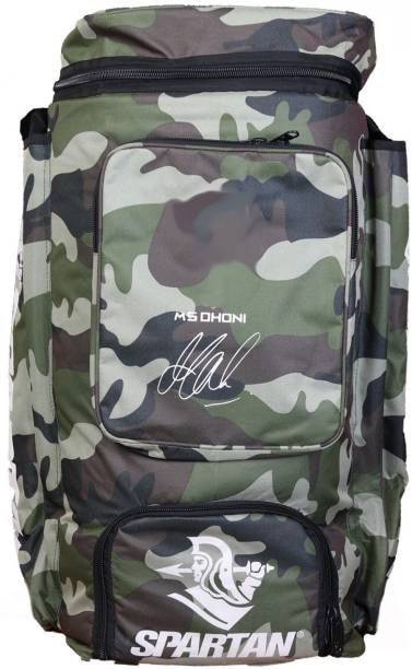 Spartan Msd Camo Cricket Kit Bag