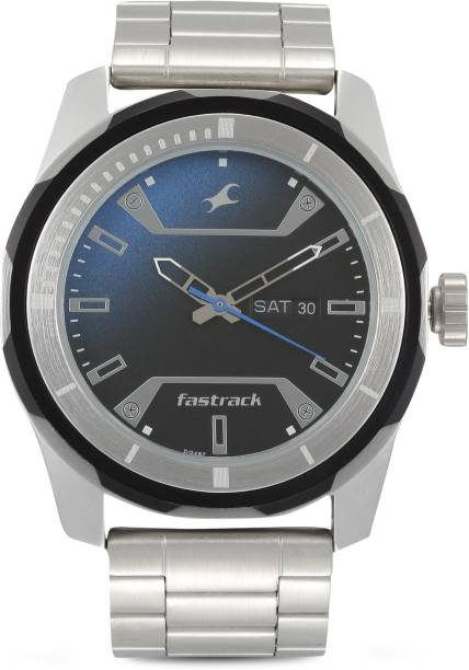 Fastrack 3166KM01 All Nighters Analog Watch  - For Men