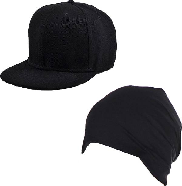 Drunken Men s Cotton And Spandex Stylish Adjustable Freesize Cap Color  (Black) Cap badcfc82055