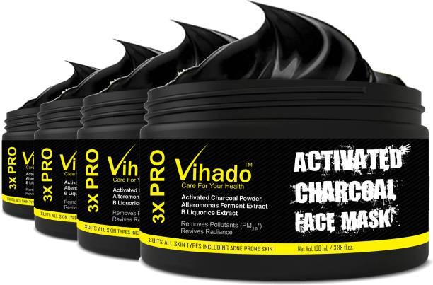 Vihado Whitening & Depigmentation Face Pack (100 g) (Pack of 4)