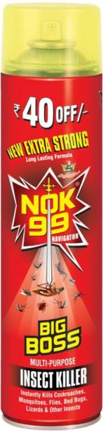NOK 99 Premium Big Boss Pack Of 3 Insect Spray Eliminates Cockroaches Mosquitoes