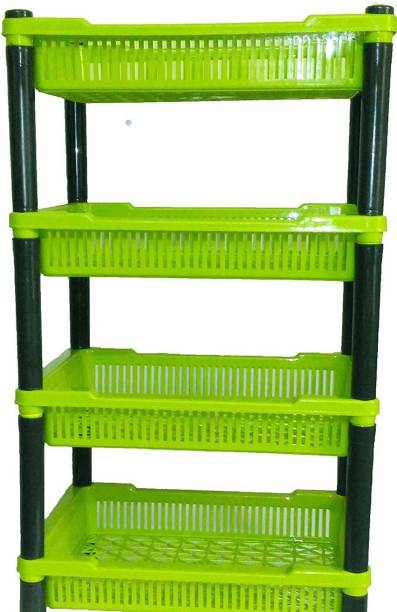 Diamond Plastic Kitchen Rack