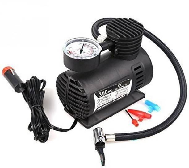 Alfa Mart 300 psi Tyre Air Pump for Car & Bike