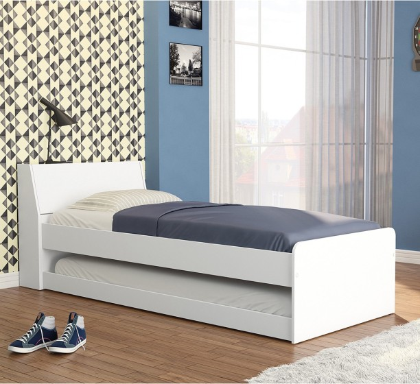 Genial Furn Central Engineered Wood Single Bed
