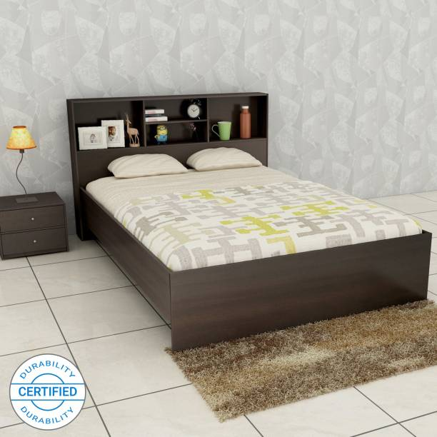 Discount Crystal Furnitech Skyler Engineered Wood Queen Bed