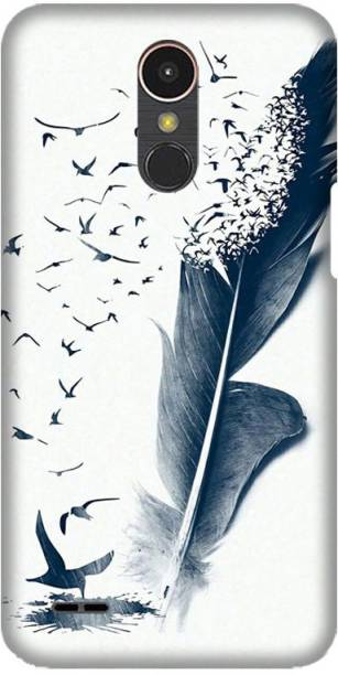PNBEE Back Cover for LG K10 (2017), M250, X400 -Birds Wing Printed Back Case Cover