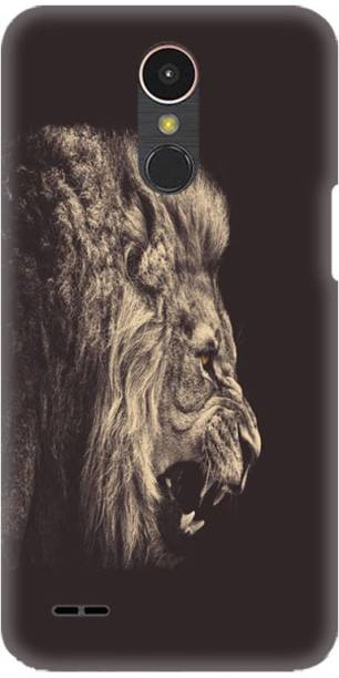 PNBEE Back Cover for LG K10 (2017), M250, X400 -Lion Printed Back Case Cover