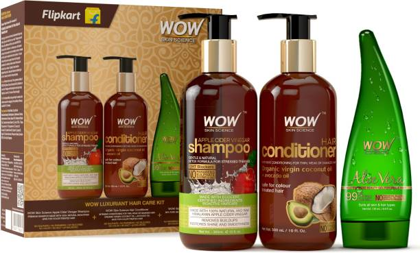 WOW SKIN SCIENCE Luxuriant Hair Care Kit