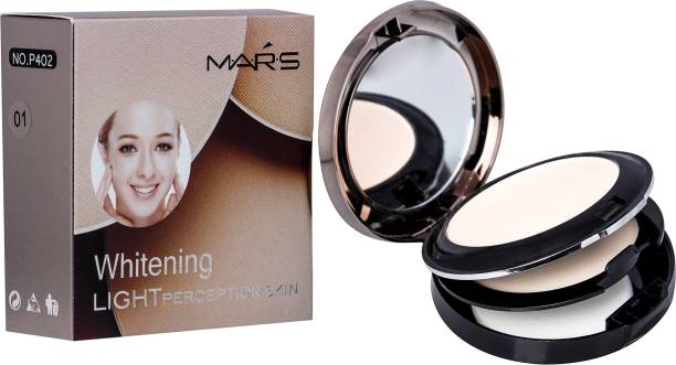 MARS 2in1 Whitening Light Perception Compact Powder Compact
