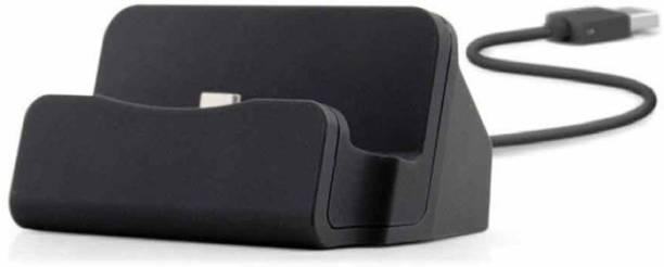 Suroskie Micro USB Data Sync Desktop Dock Charging Station Holder Dock Suitable For Smartphones Dock