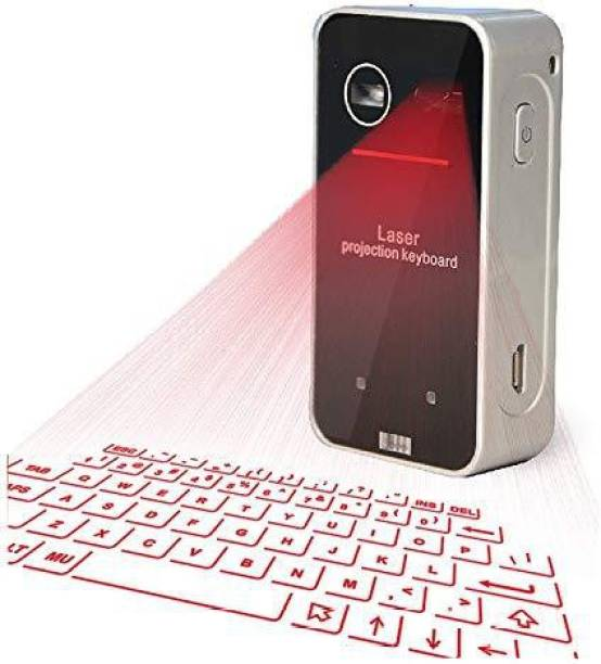 7a3b276725d DawnRays Mini Portable Virtual Laser Projection Keyboard and Mouse For  Smartphone, Laptop and Tablets,