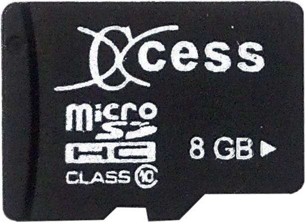 XCCESS 8 GB SD Card Class 10 40 MB/s  Memory Card