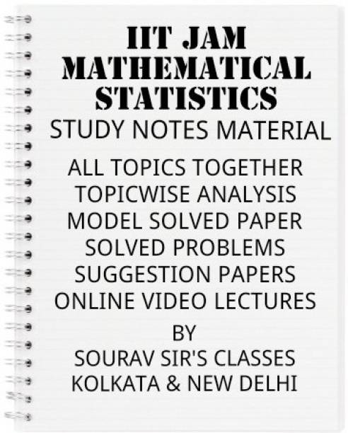 Mathematical Statistics For Iit Jam Complete Study Matrial With Topic Wise Advance Analysis + Model Solved Papers