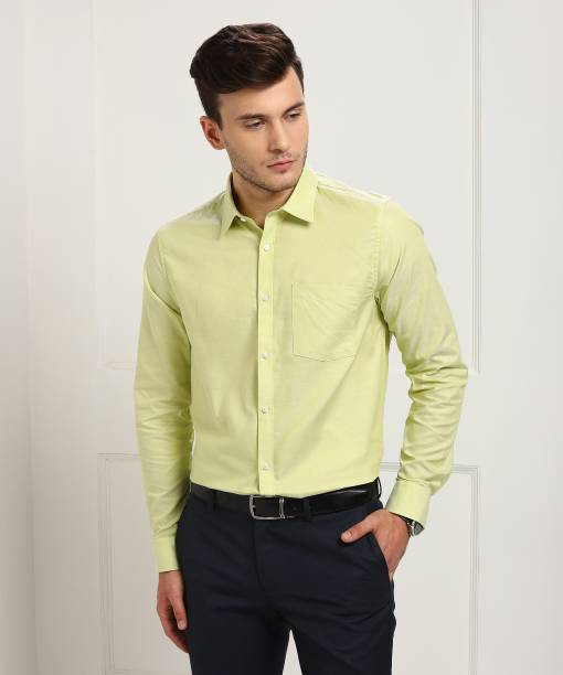 69d82c72db5 Yellow Formal Shirts - Buy Yellow Formal Shirts Online at Best ...
