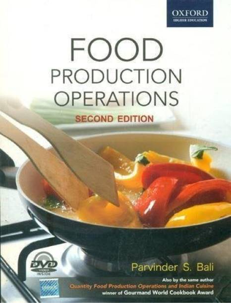 Cooking food wine books buy cooking food wine books online at best food production operations with cd 2nd edition forumfinder Image collections