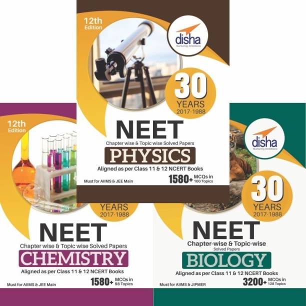 30 Years NEET Chapter-wise & Topic-wise Solved Papers (PCB) (2017 - 1988) 12th Edition