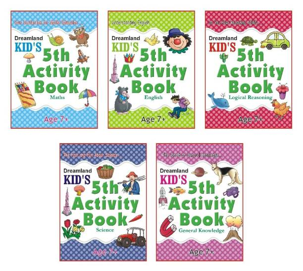 Dreamland Kid's Activity Pack (5 Titles)