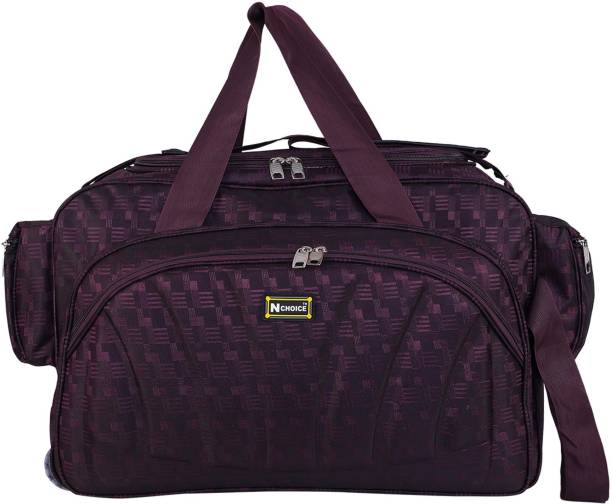 5a2c2804045a N Choice (Expandable) Travel Duffel bags for men and women (Purple) Travel