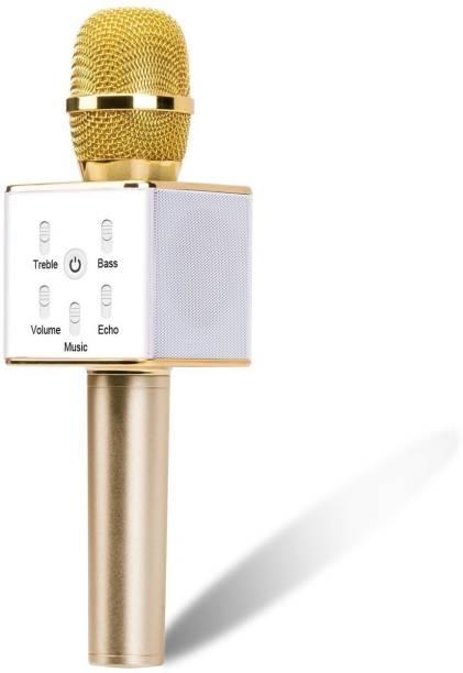 gLADOS Wireless Bluetooth Karaoke Mic Q7 Microphone