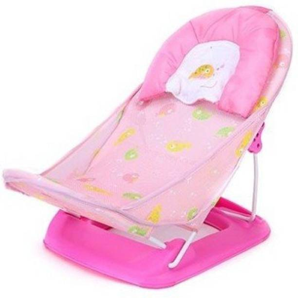 BABIQUE Mothers Touch Baby Bather (Pink) Baby Bath Seat