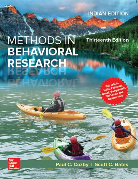 Methods In Behavioral Research, 13/e