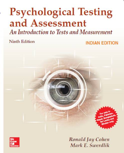 Psychological Testing and Assessment, 9/e