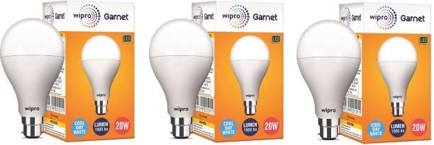 WIPRO 20 W Globe B22 LED Bulb